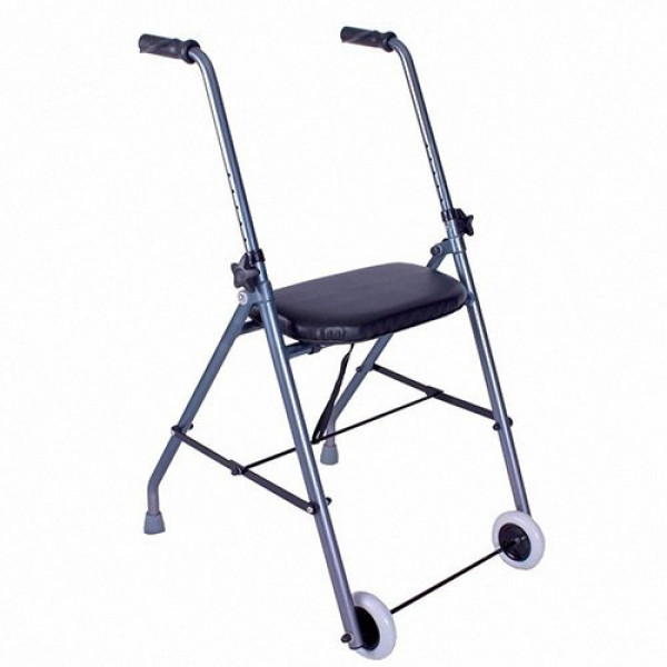 Rollator 2 roues Alustyle ultra léger