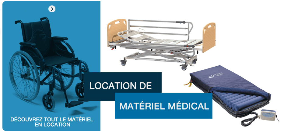 location materiel medical